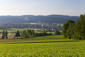 Europe, Germany, Bavaria, Upper Palatinate, R?tz, Local Overview by Chris Seba