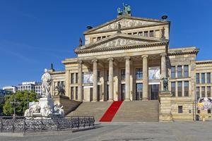 Europe, Germany, Berlin, Concert Hall by Chris Seba