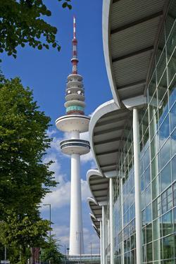 Europe, Germany, Hanseatic Town, Hamburg, Television Tower by Chris Seba