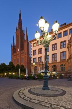 Europe, Germany, Hesse, Wiesbaden, Stone Mosaic by Chris Seba
