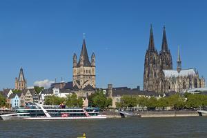 Europe, Germany, North Rhine-Westphalia, Cologne, Old Town by Chris Seba