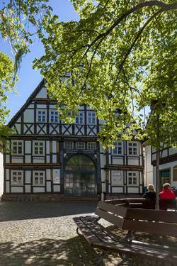 Europe, Germany, North Rhine-Westphalia, District H?xter, Beverungen by Chris Seba