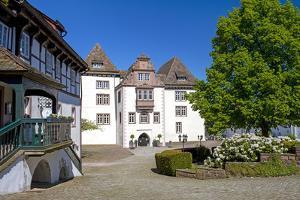 Europe, Germany, North Rhine-Westphalia, Weserbergland (Weser Mountainous Country), H?xter by Chris Seba