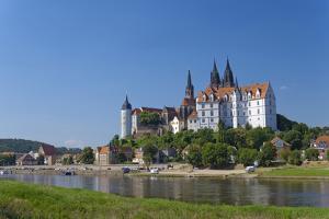 Europe, Germany, Saxony, the Elbe River, Meissen by Chris Seba