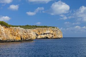 Europe, Spain, Majorca, Bay Cala Na Sau by Chris Seba