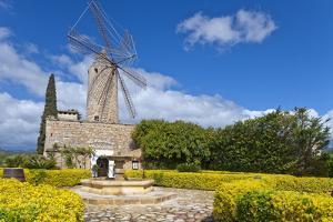 Europe, Spain, the Balearic Islands, Island Majorca, Windmill, Restaurant by Chris Seba