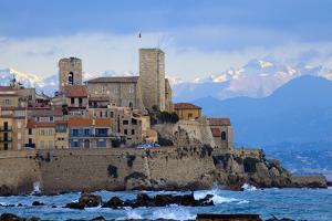 France, Cote D'Azur, Antibes, Coast by Chris Seba