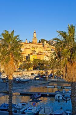 France, Cote D'Azur, Menton, Harbour, Morning by Chris Seba