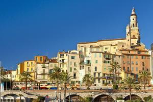 France, Cote D'Azur, Menton by Chris Seba