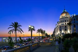 France, Cote D'Azur, Nice, Seafront by Chris Seba