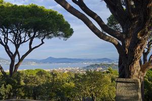 France, Cote D'Azur, Saint Tropez, Bay by Chris Seba