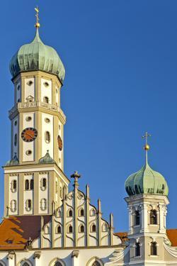 Germany, Bavaria, Augsburg, City Centre, Maximilianstrasse by Chris Seba