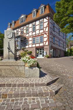 Germany, Hessen, Northern Hessen, Bad Zwesten, Old Town by Chris Seba