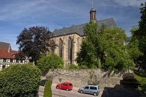 Germany, Hessen, Northern Hessen, Fritzlar, Protestant Church by Chris Seba
