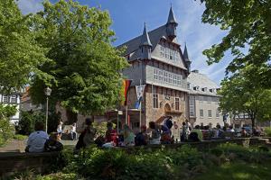 Germany, Hessen, Northern Hessen, Fritzlar, Town Hall by Chris Seba