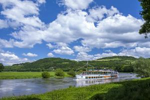 Germany, Lower Saxony, Weser Excursion Ship by Chris Seba
