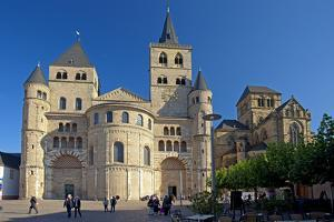 Germany, Rhineland-Palatinate, the Moselle, Trier, Cathedral by Chris Seba