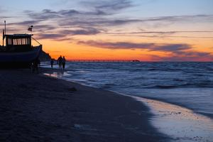 Germany, the Baltic Sea, Island Usedom, Heringsdorf, Beach by Chris Seba
