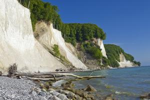 Germany, the Baltic Sea, Western Pomerania, Island RŸgen, Chalk Rock by Chris Seba