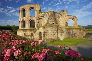 Germany, the Moselle, Trier, Imperial Baths by Chris Seba