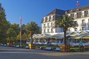 Germany, Weser Hills, Lower Saxony, Bad Pyrmont, Health Resort Park by Chris Seba