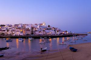 Portugal, Algarve, Portimao, Ferragudo, Townscape, Morning Mood by Chris Seba