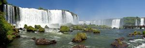 South America, Brazil, Argentina, National Park Iguazu, Waterfalls, Panorama, Tourist Walk by Chris Seba