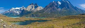 South America, Chile, Patagonia, National Park Torres Del Paine, Lake Lago Nordenskjšld by Chris Seba
