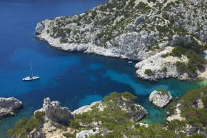South of France, Mediterranean Coast, Chalk Rocks, Les Calanques, Bath Bay by Chris Seba
