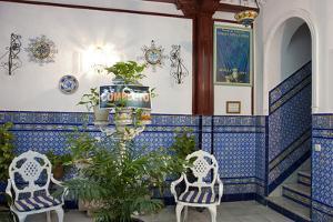 Spain, Andalusia, Seville, Hotel Entrance by Chris Seba