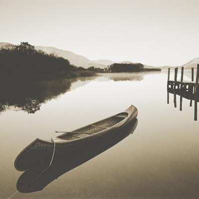 Lake Shore I - Sepia by Chris Simpson