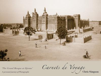The Grand Mosque At Djenne by Chris Simpson