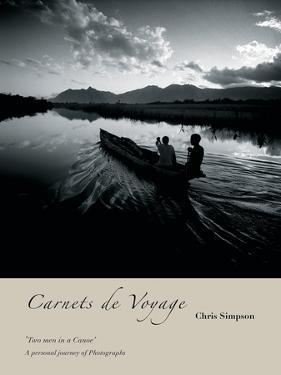 Two Men In A Canoe by Chris Simpson