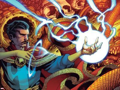 Doctor Strange No. 7 Cover Art Featuring: Dr. Strange by Chris Stevens