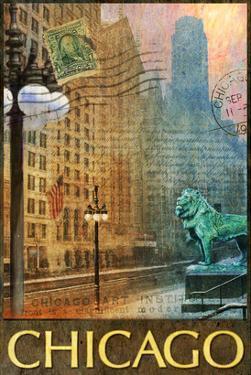 Chicago Lion by Chris Vest