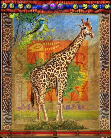 Giraffe I by Chris Vest