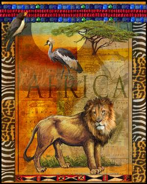 Lion I by Chris Vest