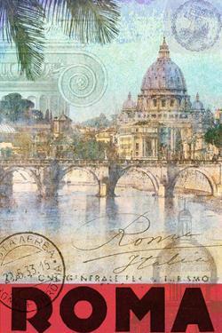 Rome, Saint Peter, Tiber River by Chris Vest