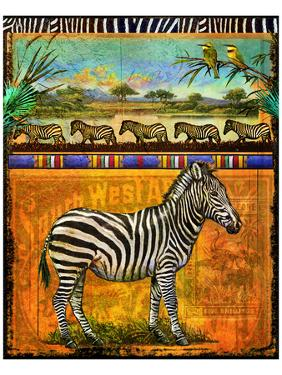 Zebra I by Chris Vest
