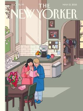 Mothers' Day - The New Yorker Cover, May 13, 2013 by Chris Ware