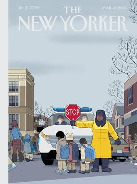 The New Yorker Cover - March 14, 2016 by Chris Ware