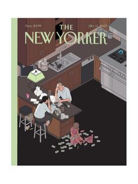 The New Yorker Cover - October 11, 2010 by Chris Ware