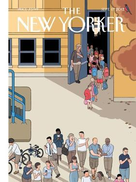 The New Yorker Cover - September 17, 2012 by Chris Ware