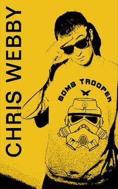 Chris Webby Bomb Trooper Music Poster Print