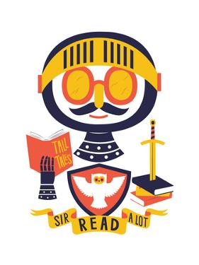 Sir Read a Lot by Chris Wharton