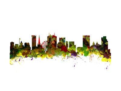 Birmingham UK City Skyline