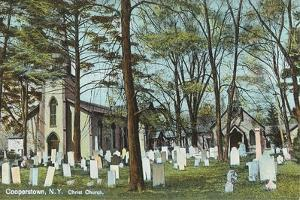 Christ Church Graveyard, Cooperstown