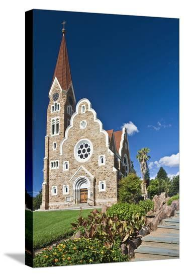 Christ church in Windhoek, Namibia--Stretched Canvas Print