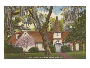 Christ Church, St. Simons Island, Georgia