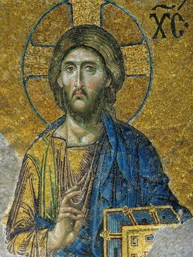 Christ, from the Deesis in the North Gallery, Byzantine Mosaic, 12th Century